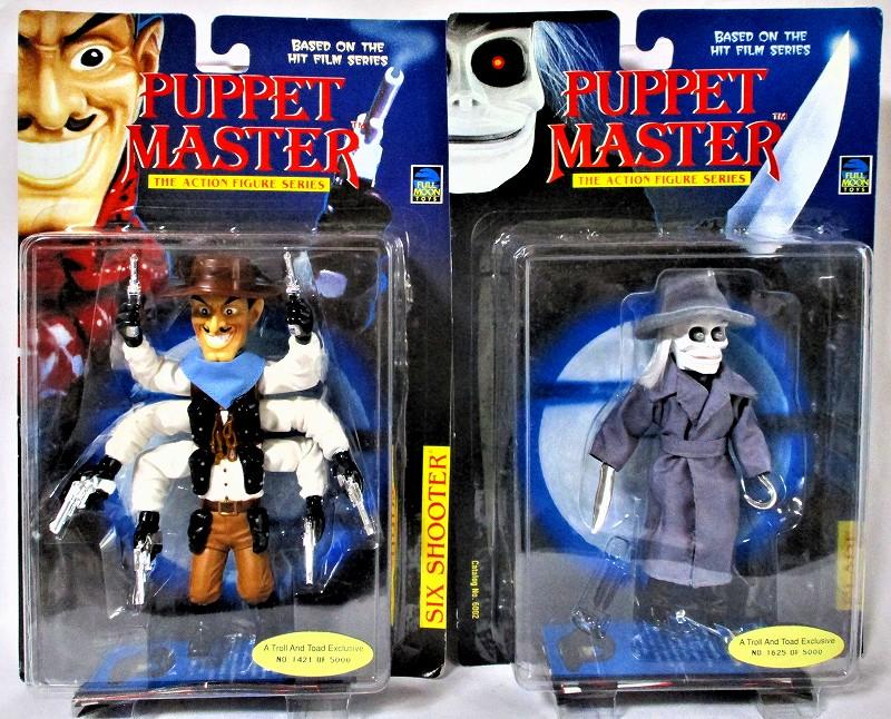 パペットマスター 「ブレード」&「シックス・シューター」平行輸入品 2体セット