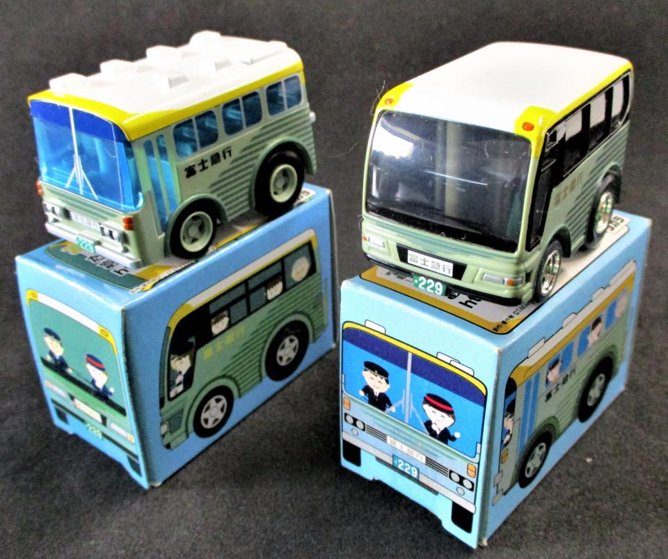 富士急行路線&観光バス 2台セット チョロQ 買取品