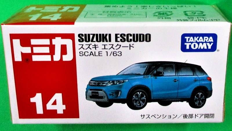 スズキ エスクード 赤箱トミカー014