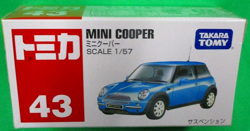 ミニクーパー 赤箱トミカー043