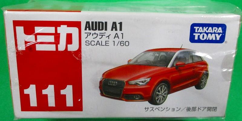 アウディ A1 赤箱トミカー111