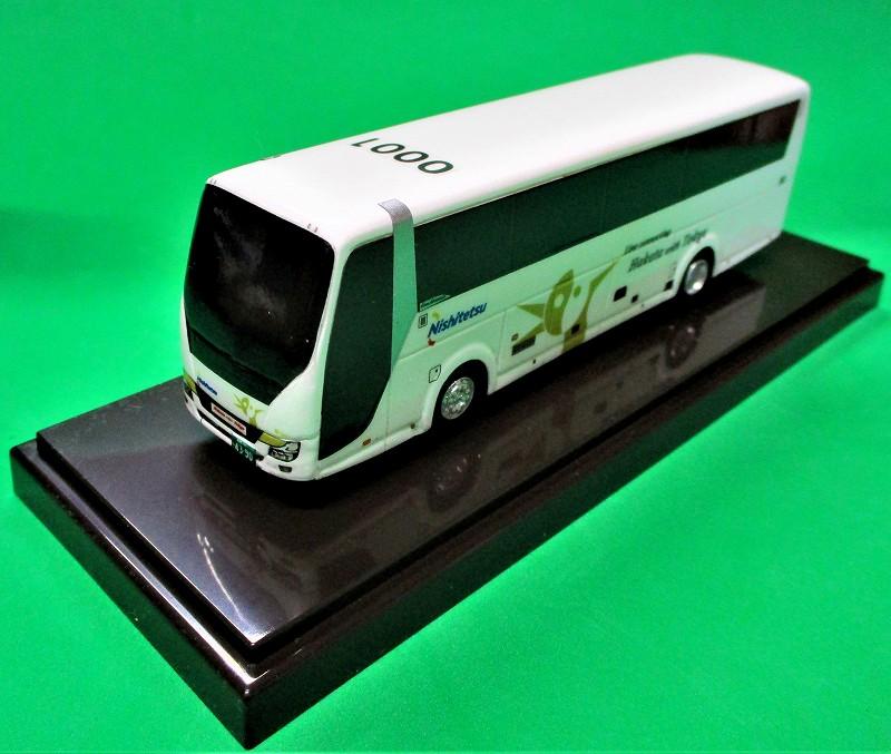 西鉄バス はかた号 新型エアロクイーン アドウィング社(レジン製)