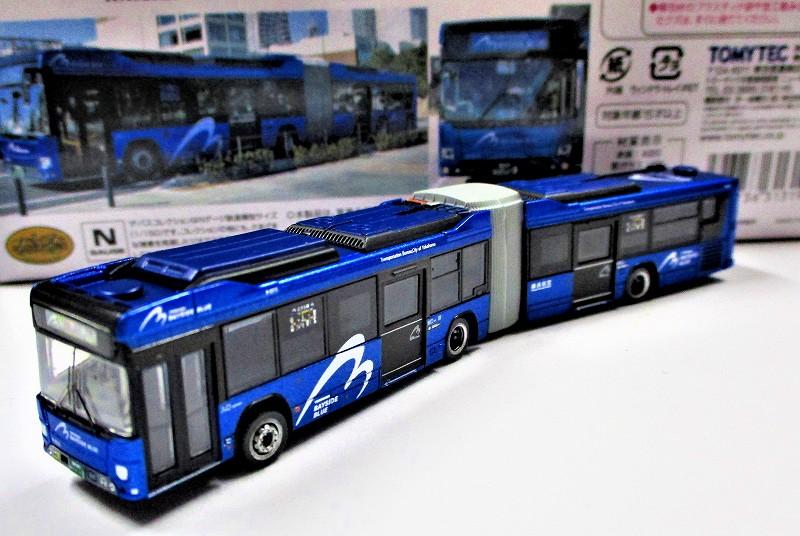横浜市交通局 ベイサイドブルー 日野ブルーリボン ハイブリッド連接バス
