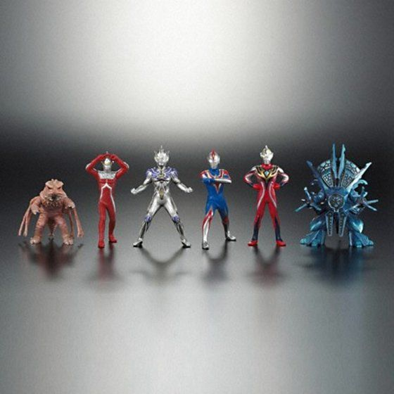 HG ウルトラマン ウルトラマンコスモス VS ウルトラマンジャスティス編 全6種セット