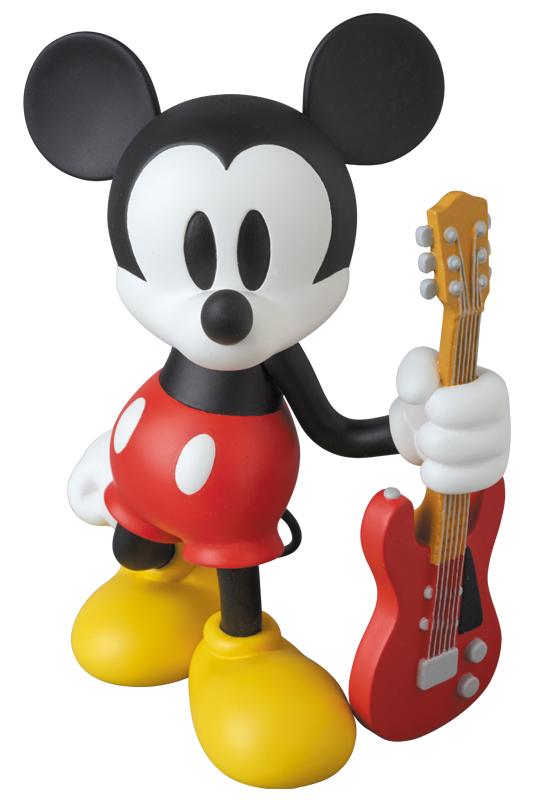 ミッキーマウス ギター バージョン(Guitar Ver. ) メディコムトイ  VCD