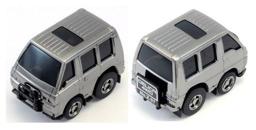 三菱 デリカ ワゴン 4WD チョロQゼロ Z-07c