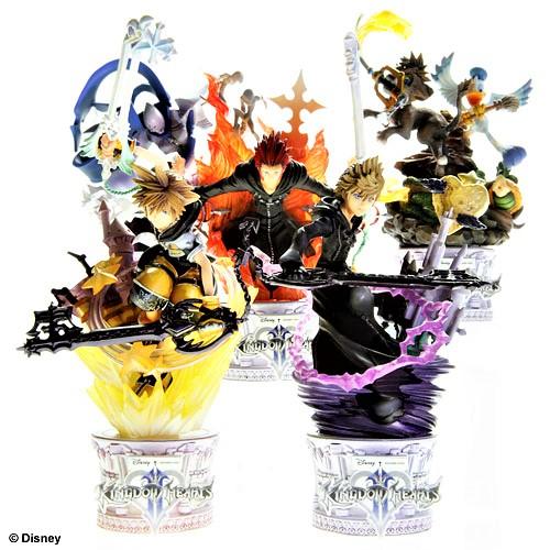 キングダム ハーツⅡ Vol.2 未開封・6ヶ入りBOX ディズニーキャラクター /フォーメーションアーツ スクウェア・エニックス製