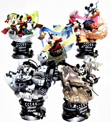 ミッキー・マウス 未開封・6ヶ入りBOX ディズニーキャラクター /フォーメーションアーツ スクウェア・エニックス製