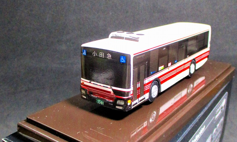小田急バス (路線車)  三菱ふそうエアロスター  アドウィング製